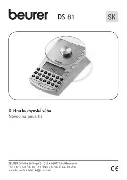 slovenský návod