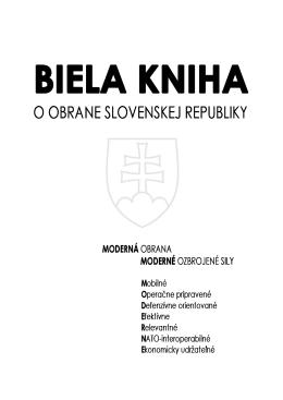 Biela kniha o obrane Slovenskej republiky