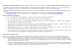 Nakladanie s chemickými látkami ( dodávka - Enviros