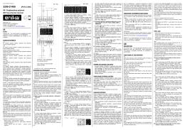 (P8 R 2 DIN) SK Dvojkanálový prijímač GB Two-channel
