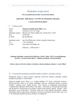 Náter stožiarov trakčného vedenia - Dopravný podnik mesta Žiliny sro