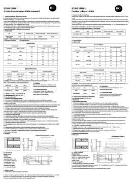 STILO STI491 3 fázisú elektromos kWh óramérő STILO STI491