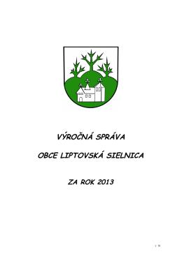 Výročná správa obce Liptovská Sielnica za rok 2013.pdf