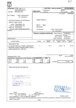 PYRA, spol. s ro SARTORISOVA 8 821 08