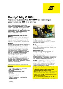 Caddy® Mig C160i