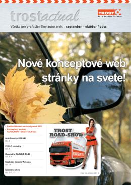 Nové konceptové web stránky na svete!