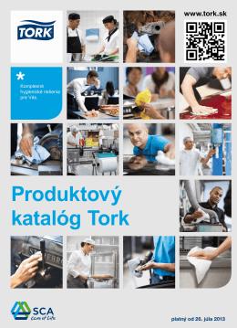 Produktový katalóg Tork 2013