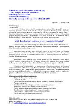 Ústav štátu a práva Slovenskej akadémie vied ASA