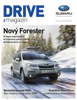DRIVE MAGAZÍN – zima 2013/2014 vo formáte pdf