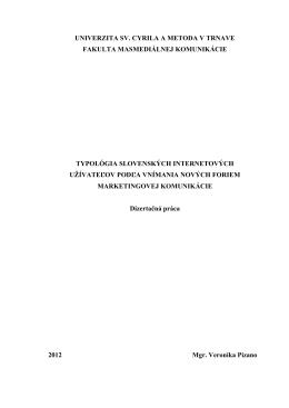 Stiahnuť dizertačku v PDF