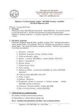 1. Otvorenie - Slovenský klub chovate¾ov husí a kaèíc