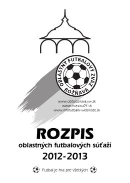 Oblastný futbalový zväz Rožňava