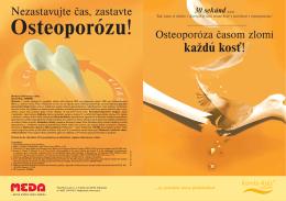 Informácie pre pacienta s osteoporózou (PDF)