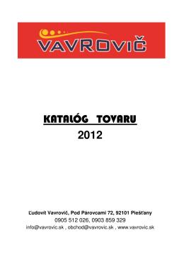 (2012-03 Katal\363g tovaru.xls)