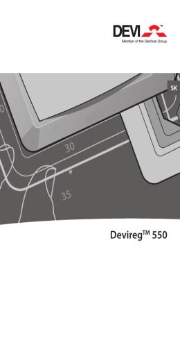 Regulátor DEVIreg 550