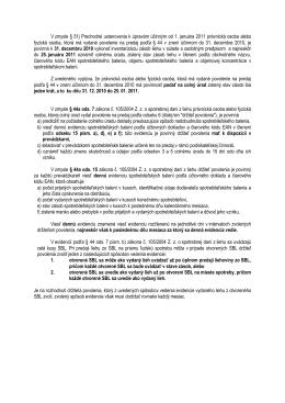 Vysvetlivky k niektorým ustanoveniam § 44a a § 51j zákona č