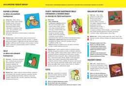 Ako správne triedtiť odpad(PDF, 397.29 KB)