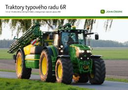 Traktory typového radu 6R