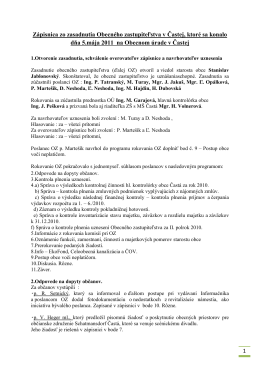 05.05.2011 - Obec Častá