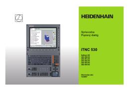 Tastsystem-Zyklen iTNC 530 (340 422-xx) de