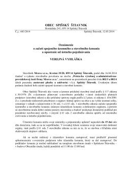 603-Mrava-O-SK - Spišský Štiavnik