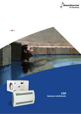 Bazénové odvlhčovače