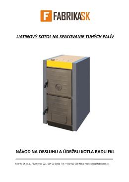 Manual FKL - AZkotol.sk