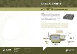 AT21201 VCG Hlasová komunikačná brána (biela kniha)