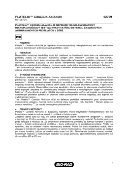 62799_Platelia Candida_8L - Bio-Rad