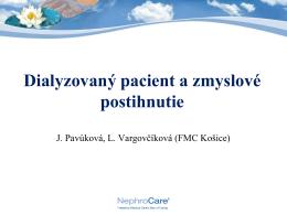 Dialyzovaný pacient a zmyslové postihnutie