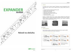 Návod na obsluhu EXPANDER AK4000 (PDF 9,5 MB)
