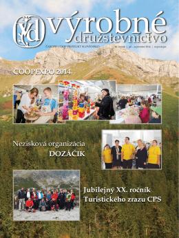 COOPEXPO 2014 Jubilejný XX. ročník Turistického zrazu CPS