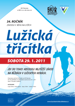 Lužická třicítka 29.1.2011