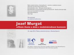 pozvanka-murgas-konferencia - Štátna vedecká knižnica v Banskej
