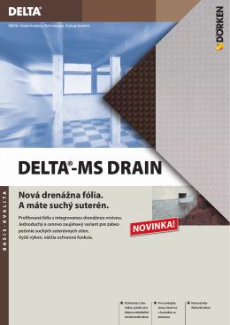 DELTA®-MS DRAIN