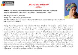 BRAVO BIG RAINBOW_sk1