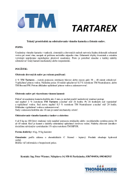 TM TARTAREX - info