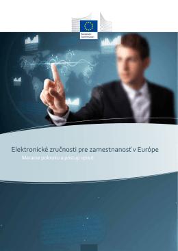 Elektronické zručnosti pre zamestnanosť v Európe - e