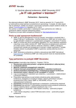Popis a typy sponzorstva na stiahnutie (pdf)