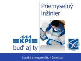 PPS štúdijný materiál KPI - Strojnícka fakulta