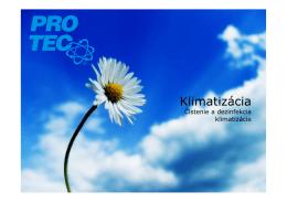 Klima Fresh - PRO-TEC SLOVAKIA spol. s ro