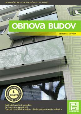 obnova budov leto 2012