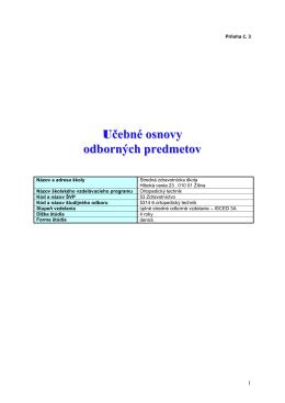 ORT-príloha3 - Stredná zdravotnícka škola, Žilina