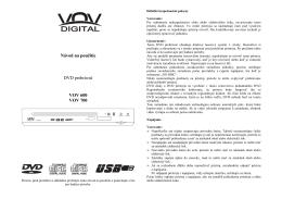 VOV-600 700 SK MANUAL - dia