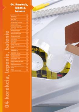 Korekcia, lepenie, balenie (PDF)