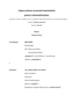 Zmluva pozemok (pdf)