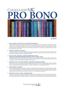PRO BONO ULC 06 2014