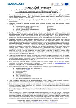 Reklamacny poriadok AMV.pdf - Aktivizujúce metódy vo výchove