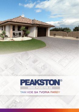produkty - Peakston