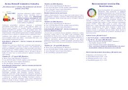 Pozvánka na kurzy a workshopy v201501